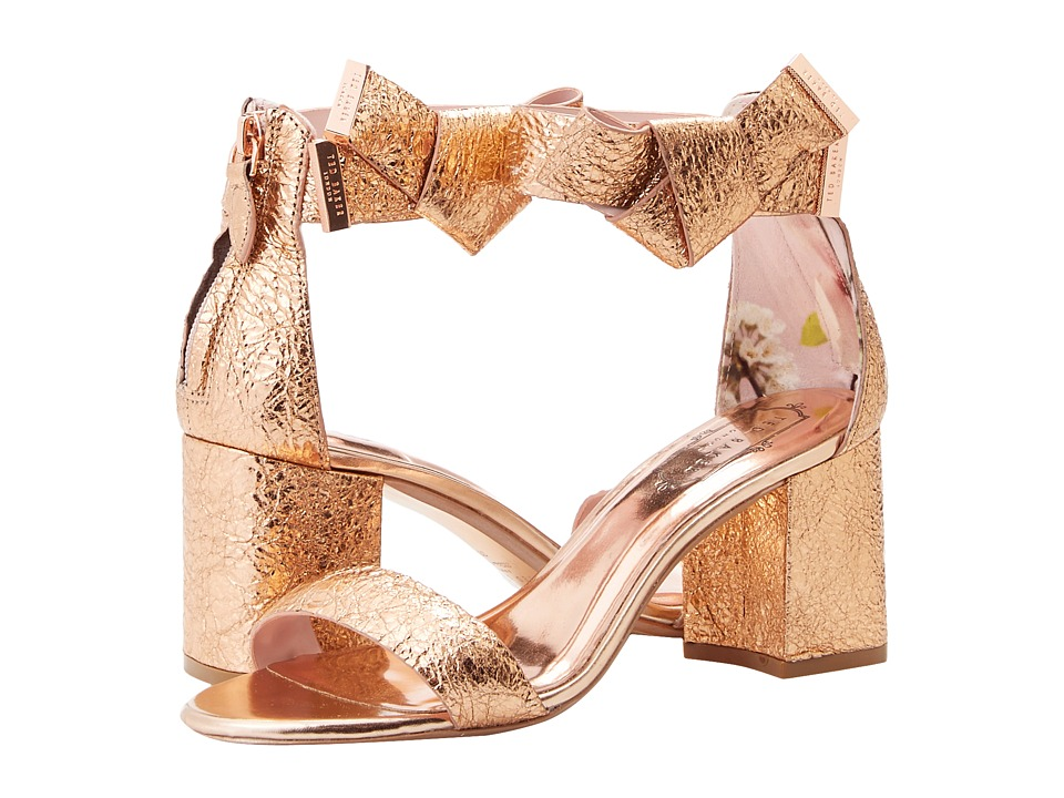 Ted Baker Kerria (Rose Gold Leather) Women's Shoes