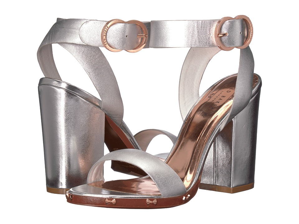 Ted Baker Lylea (Silver Leather) Women's Shoes