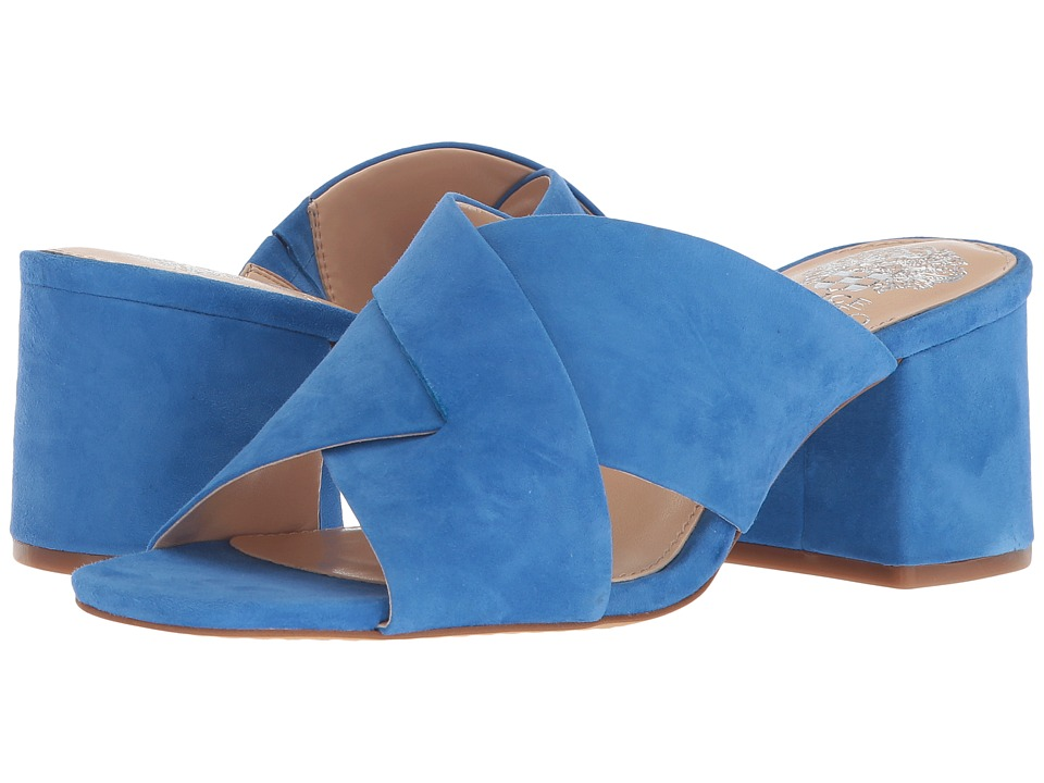 Vintage Style Shoes, Vintage Inspired Shoes Vince Camuto - Stania Mykonos Blue Womens Shoes $110.00 AT vintagedancer.com