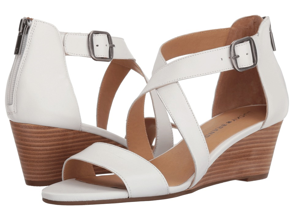 Lucky Brand Jenley (Bright White) Women's Shoes