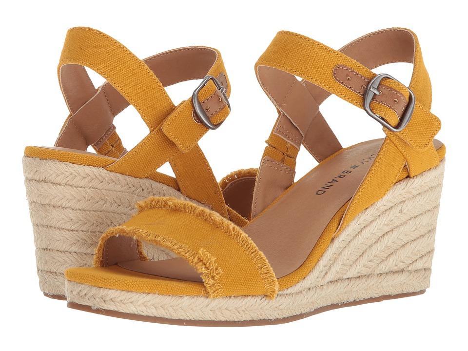 60s Shoes, Boots | 70s Shoes, Platforms, Boots Lucky Brand - Marceline Saffron Womens Shoes $79.00 AT vintagedancer.com