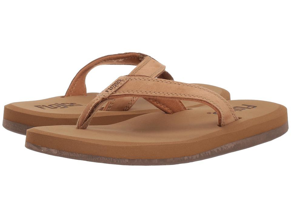 Flojos Colette II (Tan) Sandals