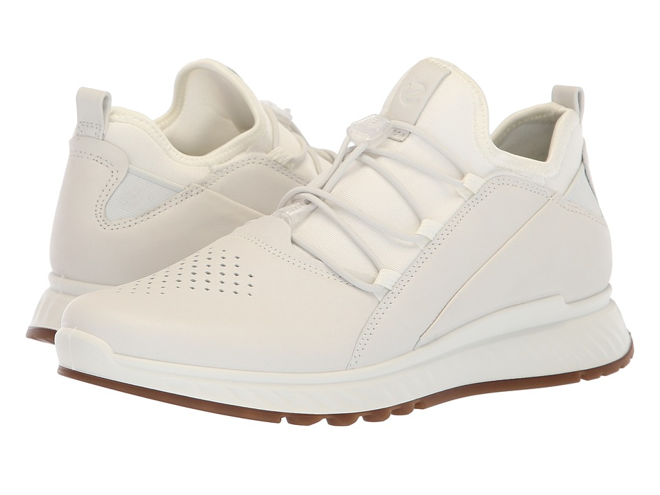 ECCO ST1 Toggle (White Yak Leather) Women's Shoes