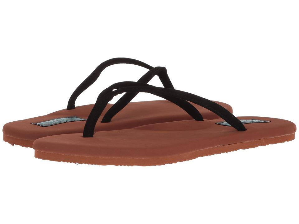 Flojos Fiesta (Black/Brown) Women's Shoes