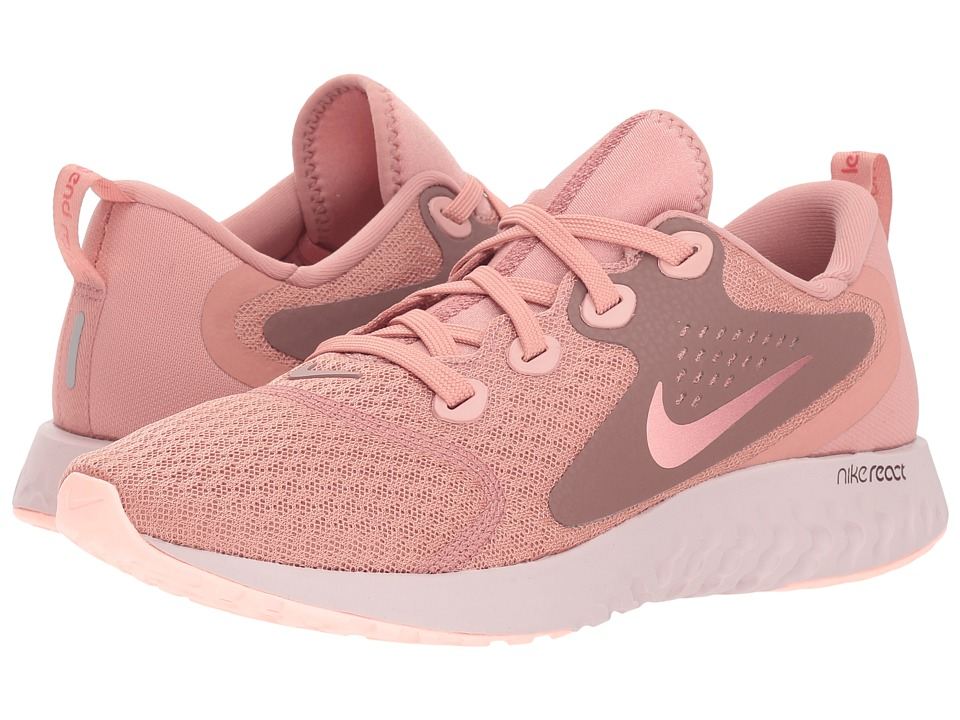 Nike Legend React (Rust Pink/Pink Tint/Smokey Mauve/Sail) Women's Running Shoes