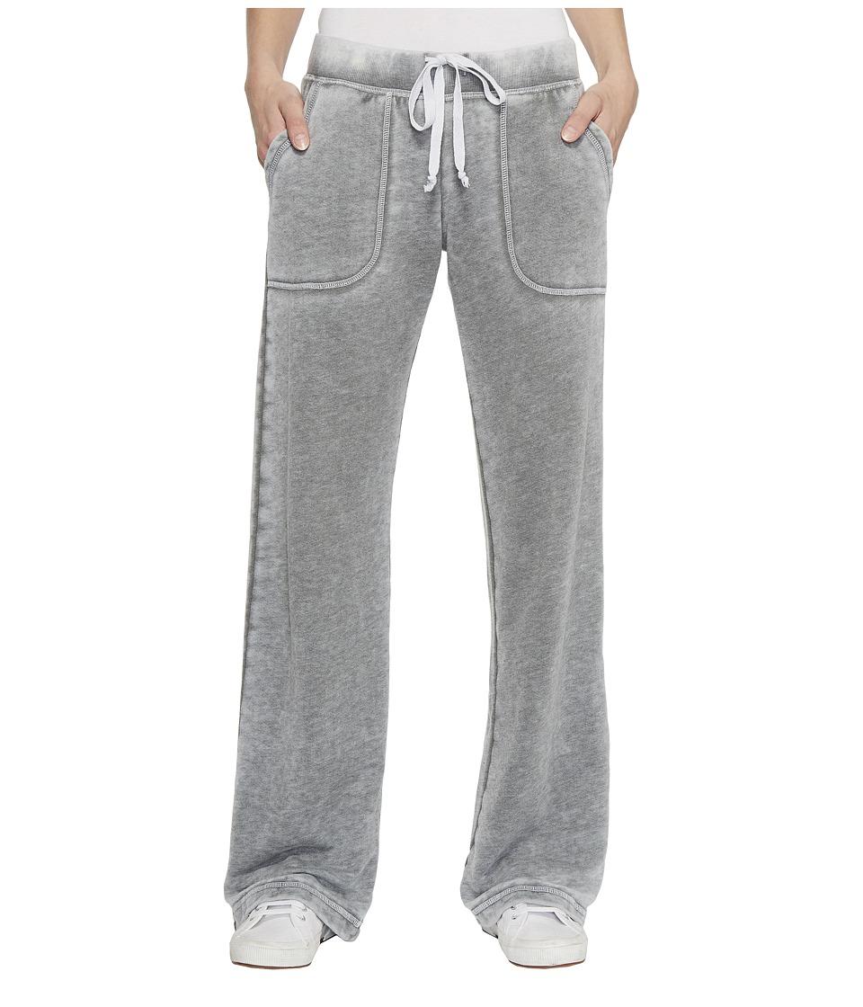 Allen Allen French Terry Long Cargo Pants (Cilantro) Women