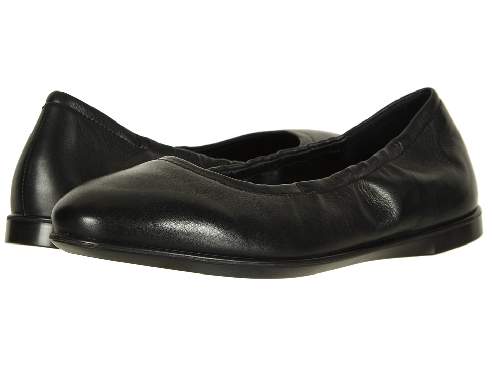 ECCO Incise Enchant Ballerina (Black Calf Leather 2) Flats