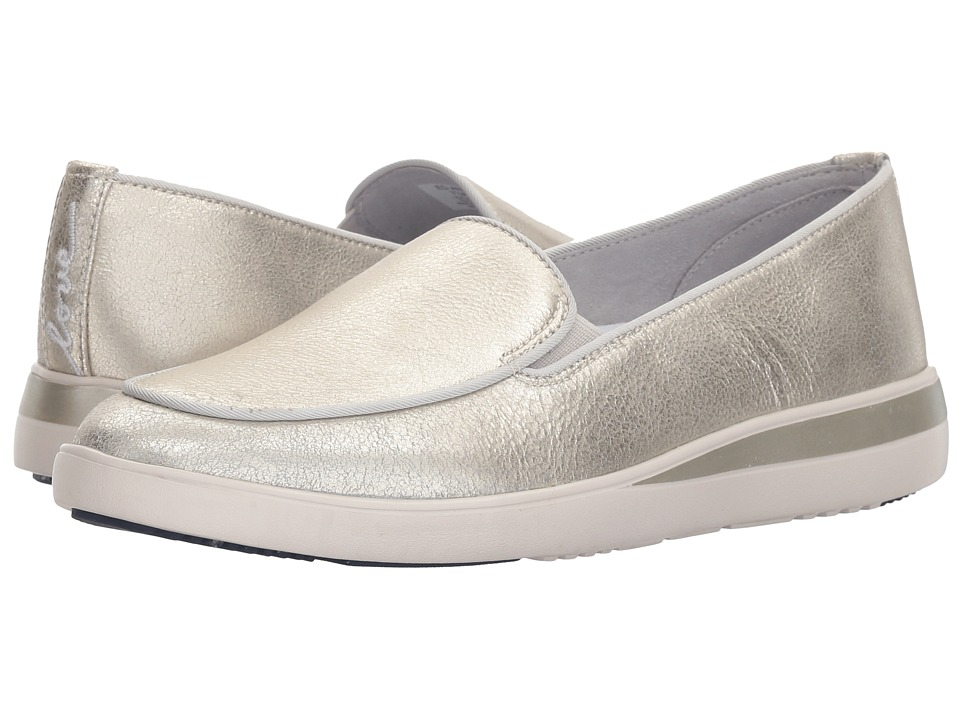ED Ellen DeGeneres Antona (Silver Worn Metallic) Women's Shoes