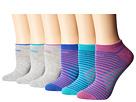 adidas Kids Superlite Adiblock No Show Socks 6-Pack (Toddler/Little Kid/Big Kid/Adult)