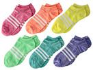 adidas Kids Superlite No Show Socks 6-Pack (Toddler/Little Kid/Big Kid/Adult)