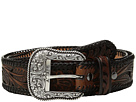 Ariat Tapered Floral Pierced Belt