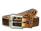 Ariat Croc Embossed with Turquoise Stone Belt