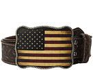 M&F Western Vintage Embossed USA Buckle Belt