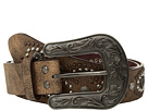 M&F Western Cluster Studs with Copper Buckle Belt