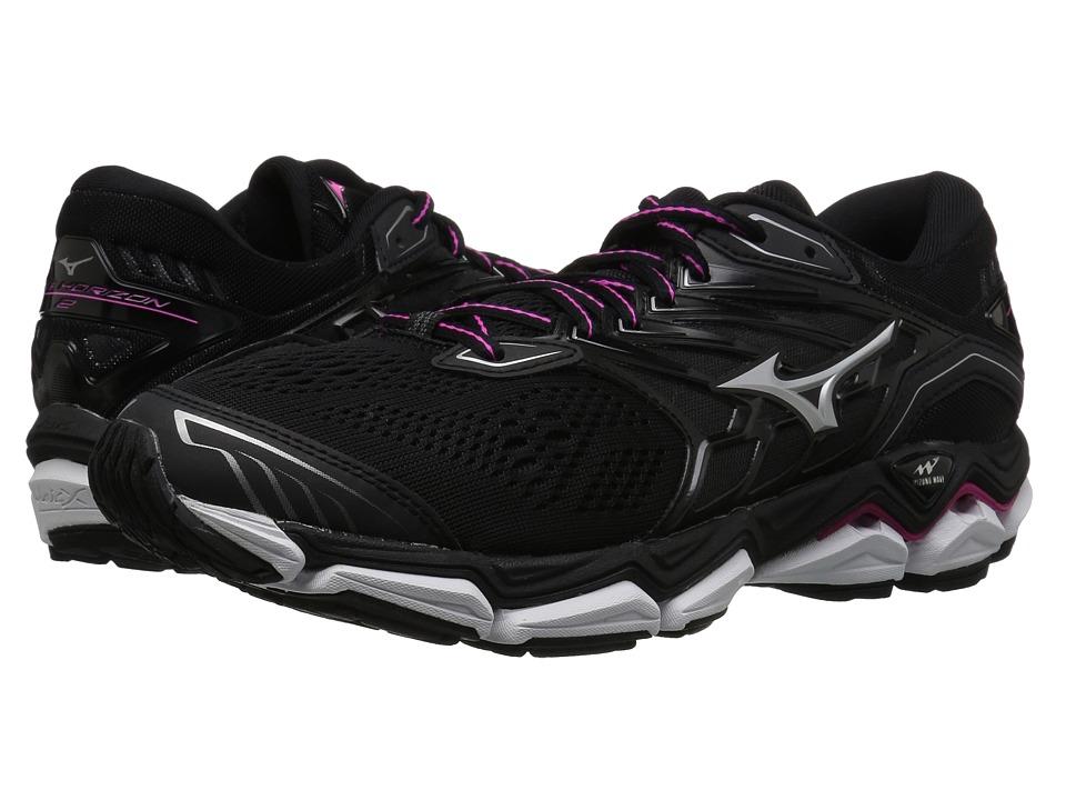 Mizuno Wave Horizon 2 (Black/Athena) Women's Running Shoes