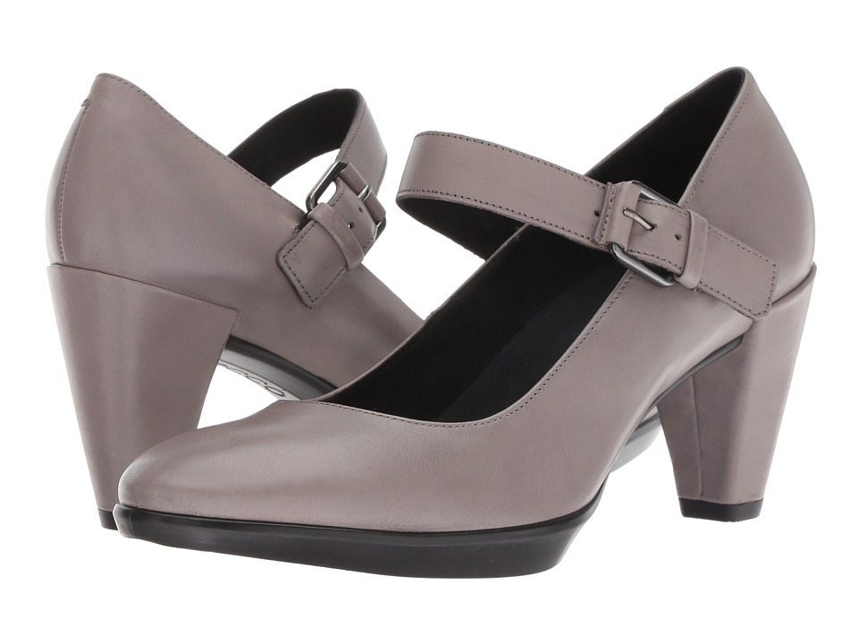 ECCO Shape 55 Plateau MJ (Moon Rock Cow Nubuck) Women's Shoes