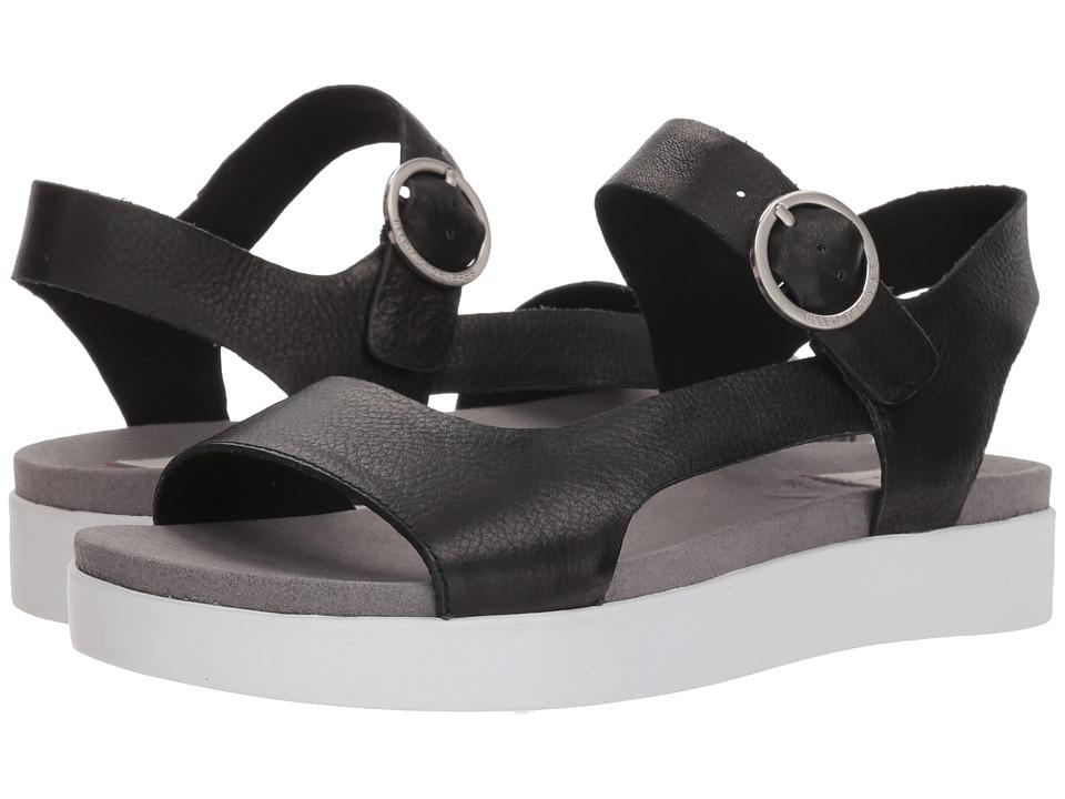 ED Ellen DeGeneres - Caspin (Black Cow Napoli) Womens Shoes