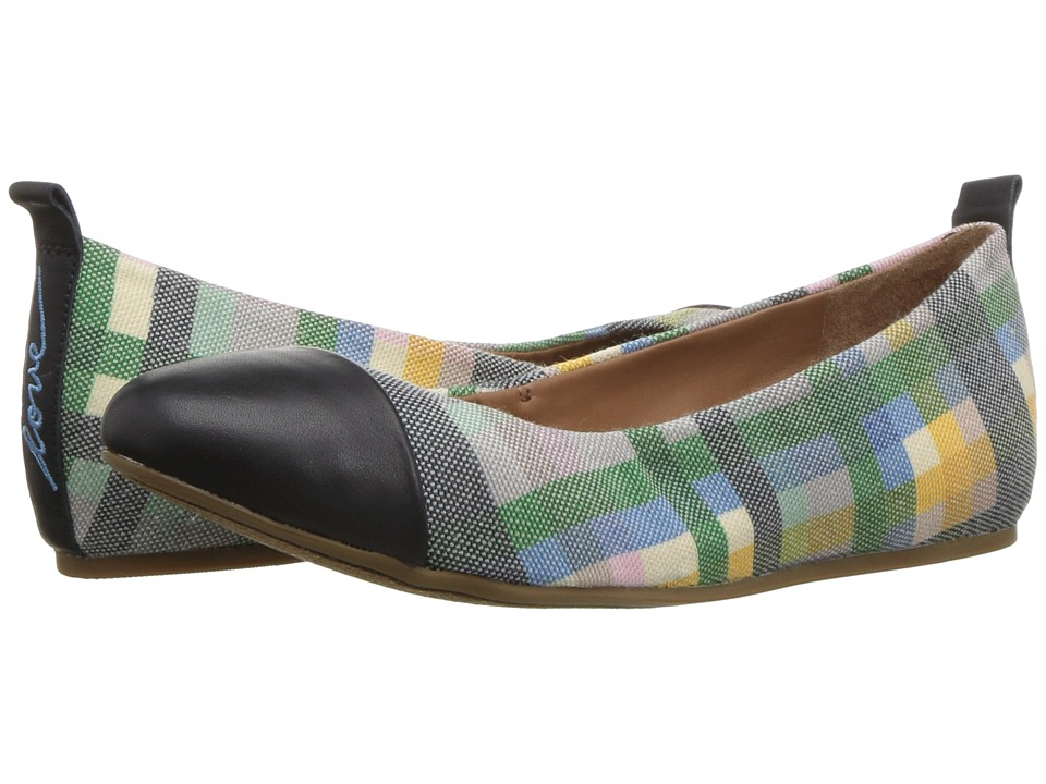 ED Ellen DeGeneres - Lilliane2 (Madras Plaid Cottonette) Womens Lace up casual Shoes