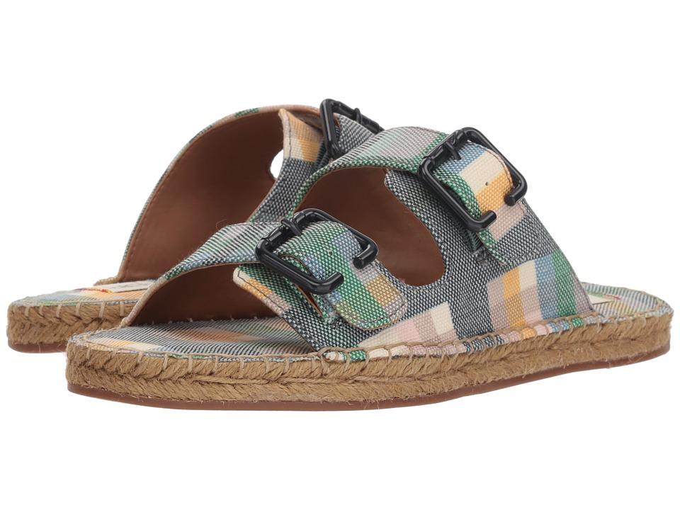ED Ellen DeGeneres Sadie (Madras Print Cottonette) Women's Shoes