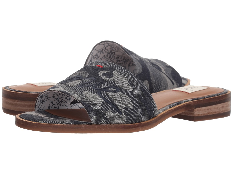 ED Ellen DeGeneres Solay (Dark Denim Jacquard Heart Camo) Women's Shoes