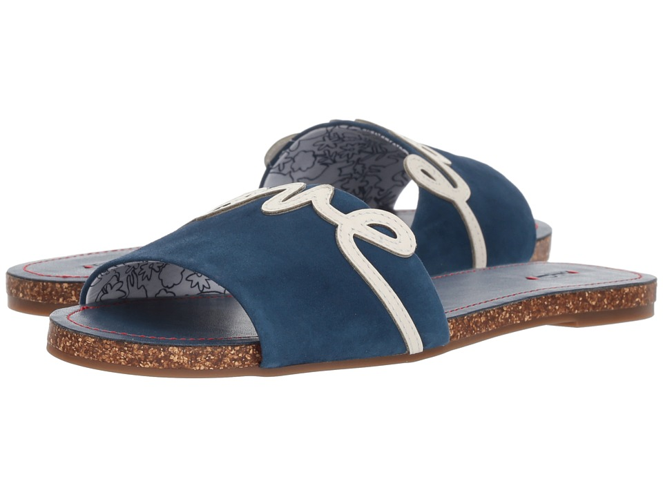 ED Ellen DeGeneres Sharlin (Oxford Blue/Milk Kid Suede) Women's Shoes