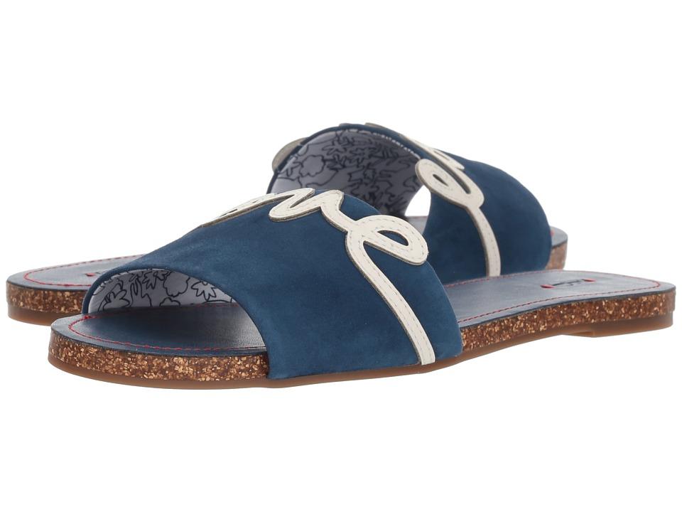 ED Ellen DeGeneres - Sharlin (Oxford Blue/Milk Kid Suede) Womens Shoes