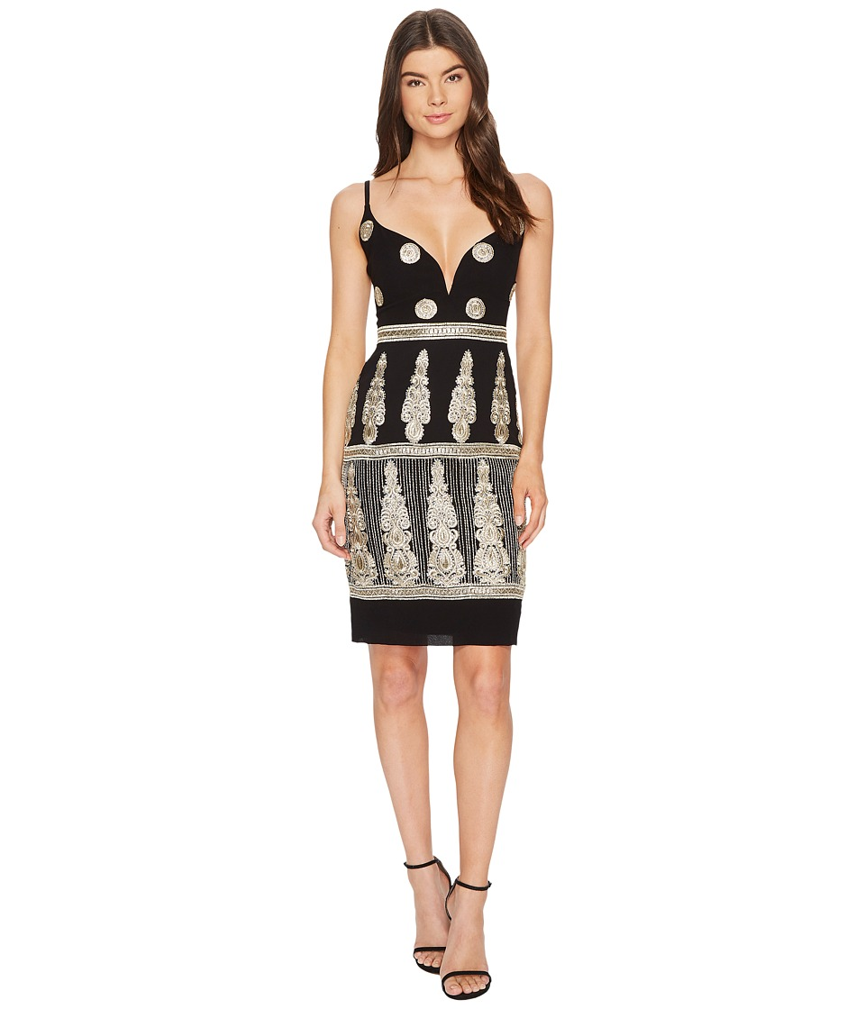 Nicole Miller - Enchanted Embroidered Mini Dress