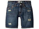 Levi's(r) Kids 511 Slim Fit Destroyed Denim Cut Off Shorts (Little Kids)