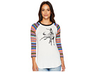 Rock and Roll Cowgirl 3/4 Sleeve Tee 48T6744