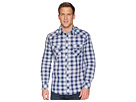 Rock and Roll Cowboy Rock and Roll Cowboy Long Sleeve Snap Plaid B2S5705
