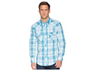 Rock and Roll Cowboy Rock and Roll Cowboy Long Sleeve Snap Plaid B2S6032