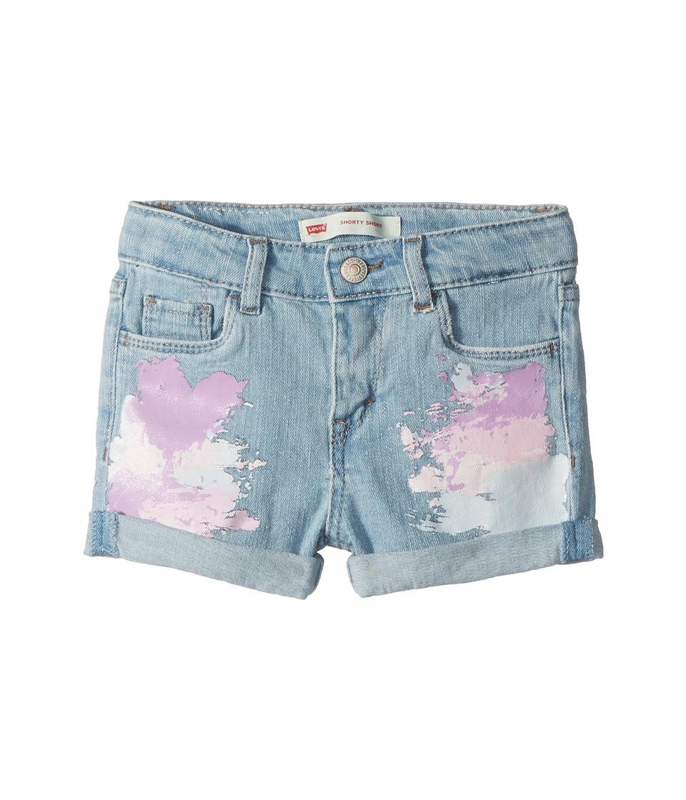 Levis(r) Kids - Summer Love Midi Short (Toddler) (Montauk) Girls Shorts