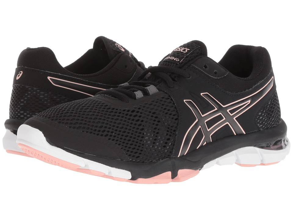 ASICS Gel-Craze TR 4 (Black/Frosted Rose) Women's Cross Training Shoes