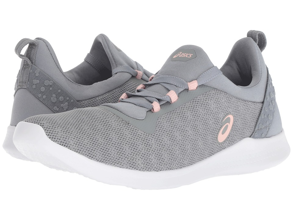 ASICS Gel-Fit Sana 4 (Stone Grey/Frosted Rose) Women's Shoes