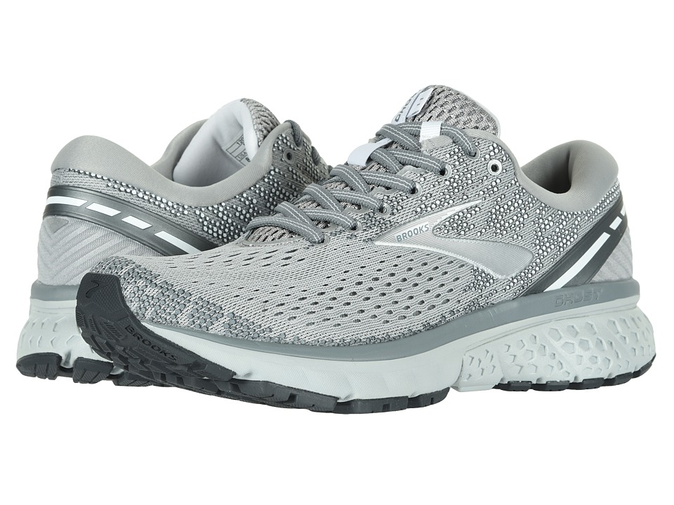 Brooks Ghost 11 (Grey/Silver/White) Women's Running Shoes