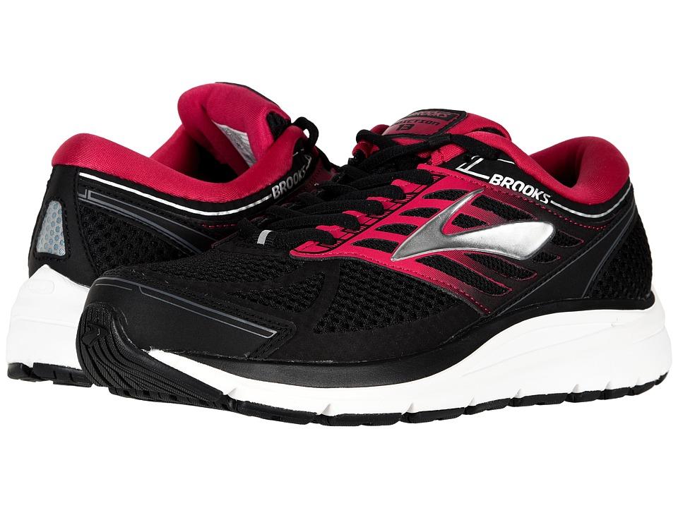Brooks Addiction 13 (Black/Pink/Grey) Women's Running Shoes