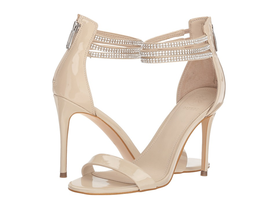 GUESS - Kathy (Ivory Synthetic) Womens Shoes