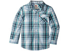 Levi's(r) Kids Long Sleeve One-Pocket Plaid Shirt (Little Kids)