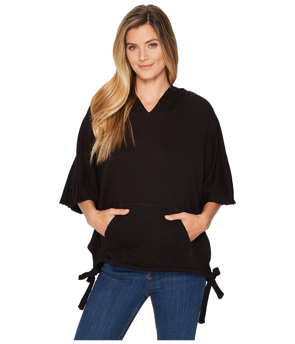 Lanston Oversized Pullover Sweatshirt (Black) Women