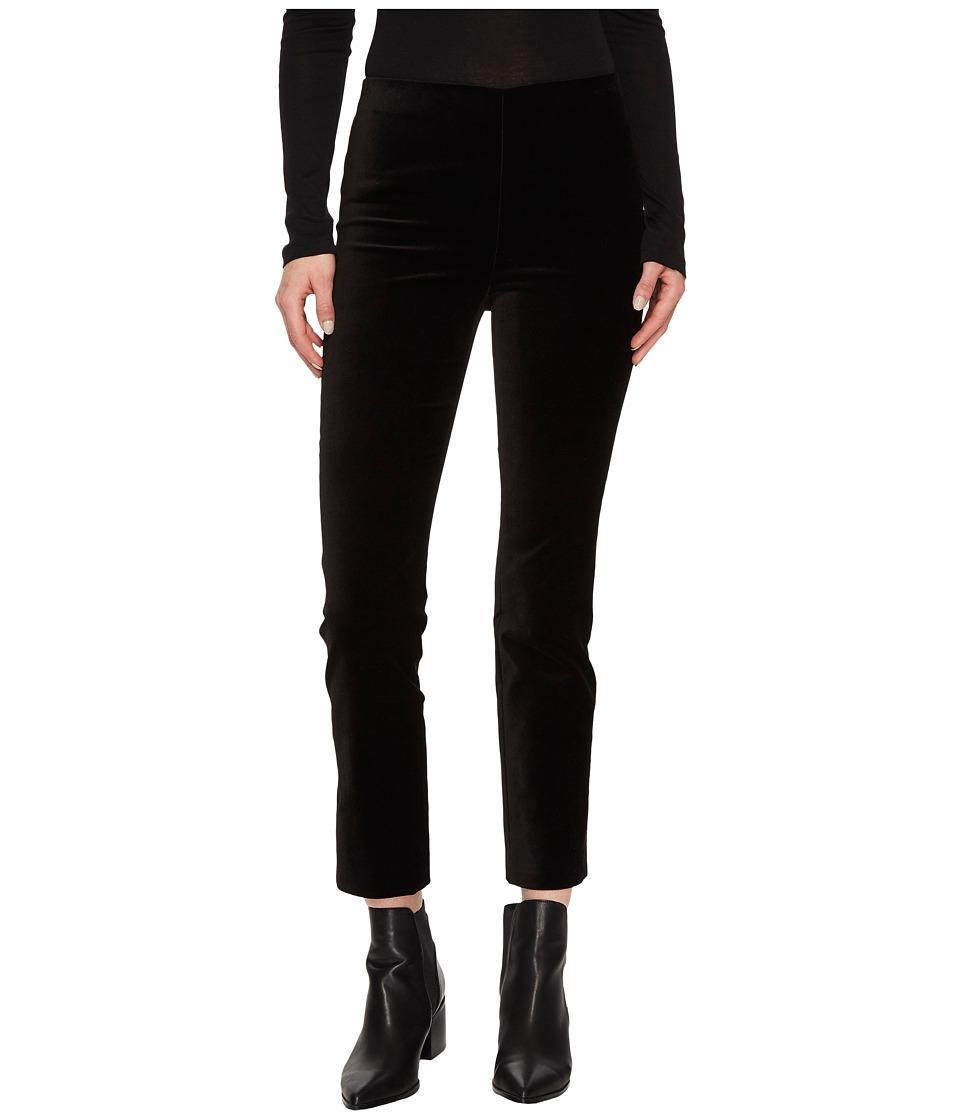 Vince Velvet Leggings (Black) Women's Casual Pants