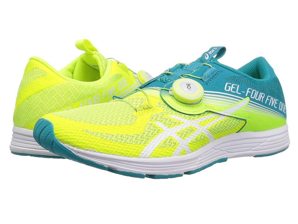 ASICS GEL-451 (Flash Yellow/Lagoon) Women's Running Shoes