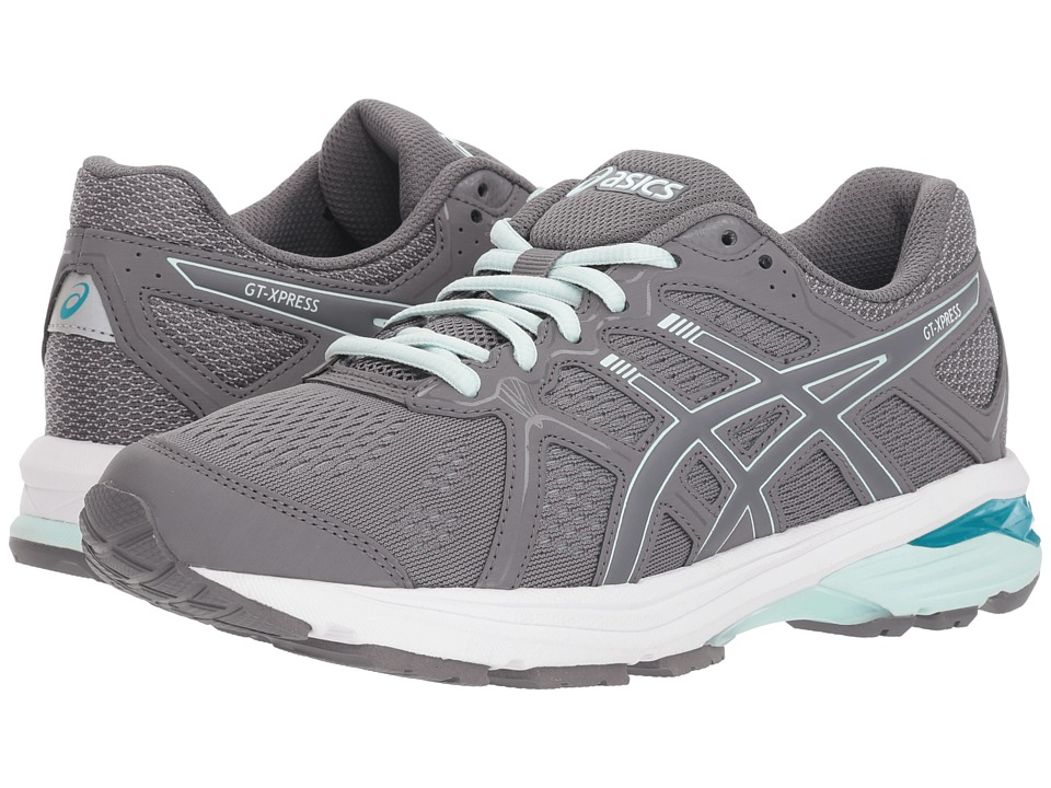 ASICS GT-Xpress (Carbon/Soothin Sea) Women's Running Shoes