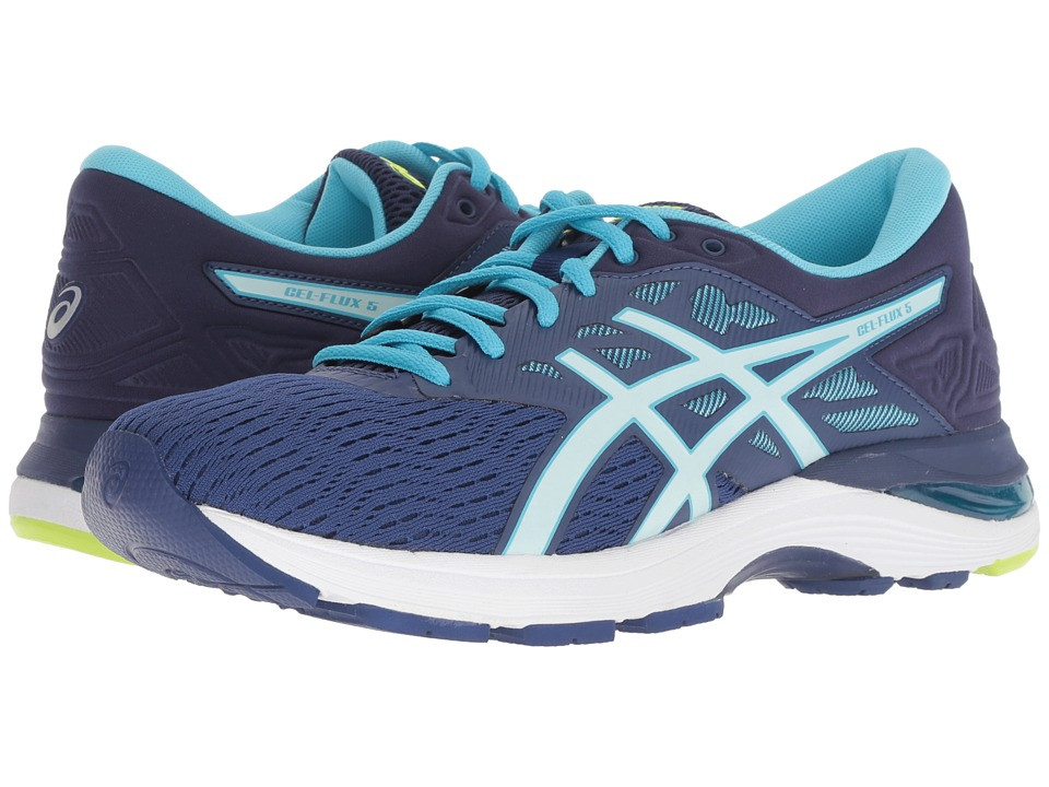 ASICS GEL-Flux 5 (Blue Print/Soothing Sea) Women's Running Shoes