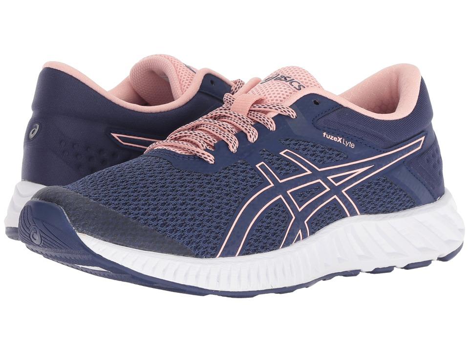 ASICS FuzeX Lyte 2 (Indigo Blue/Frosted Rose) Women's Running Shoes