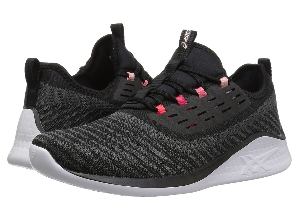ASICS Fuzetora Twist (Black/Frosted Rose) Women's Running Shoes