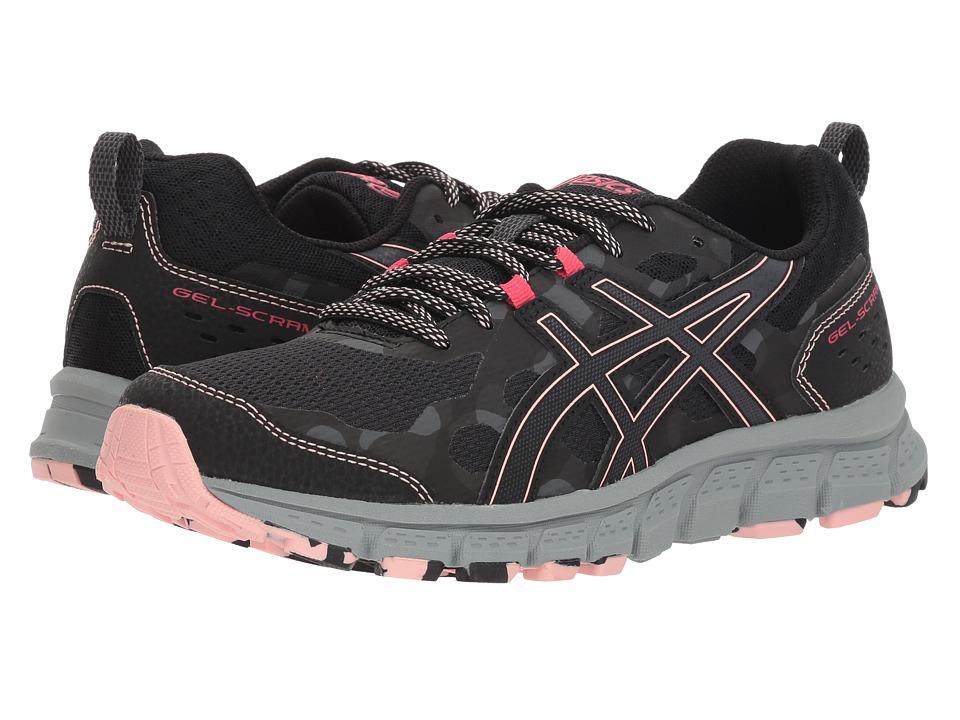 ASICS GEL-Scram 4 (Black/Dark Grey) Women's Running Shoes