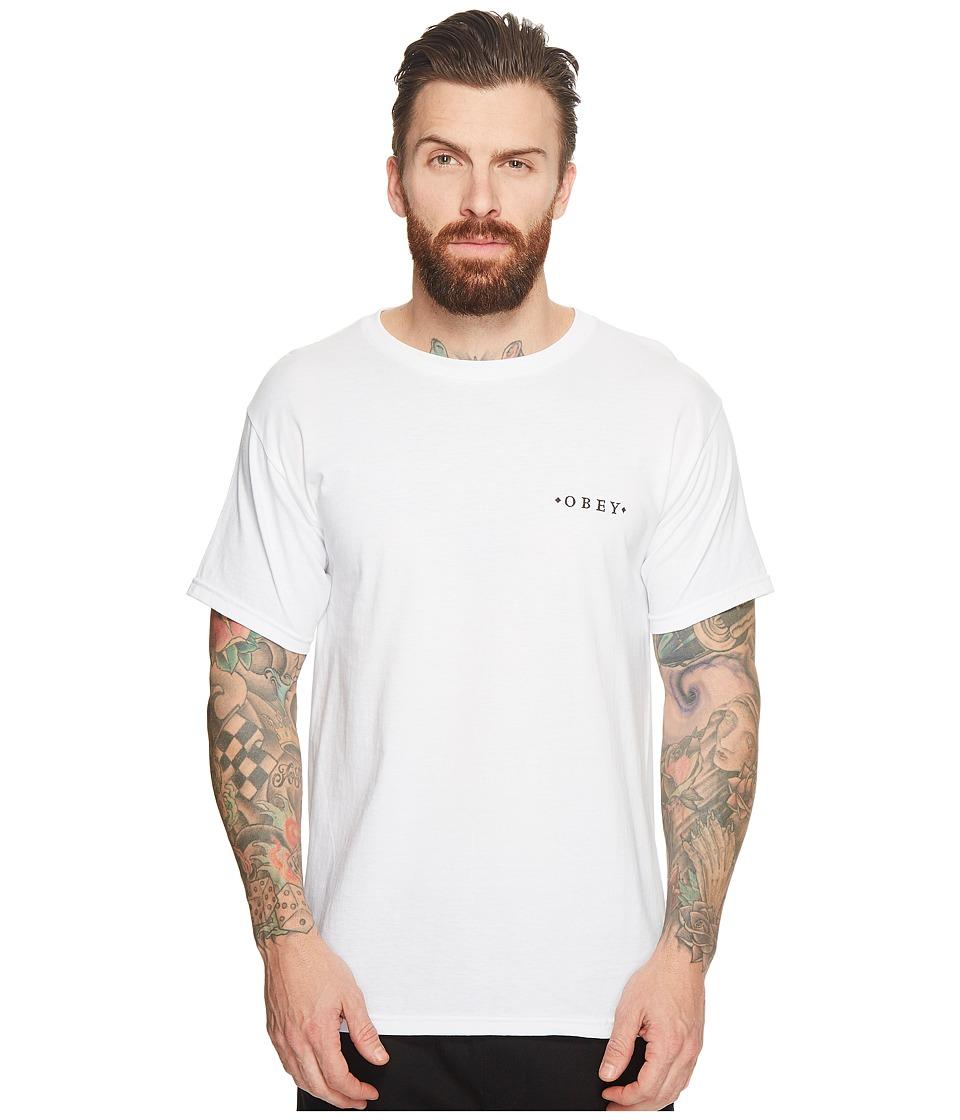 Obey 1st Amendment Tee (White) Men
