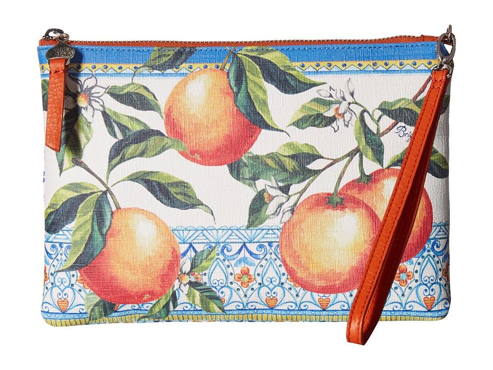 Brighton - Casablanca Garden Large Wristlet Pouch (Multi) Wristlet Handbags