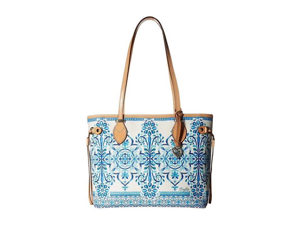 Brighton - Brielle Scarf Tote (Multi) Tote Handbags