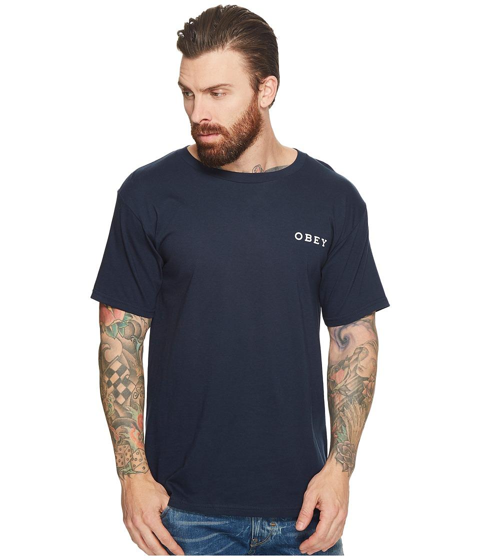 Obey No Future Tee (Navy) Men